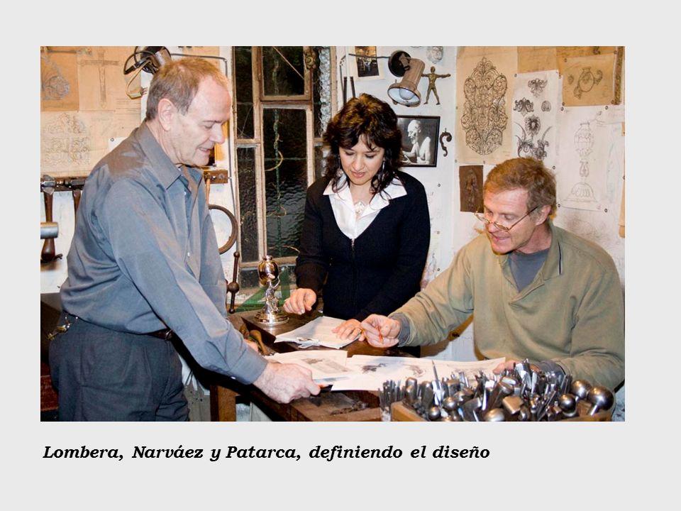 Lombera, Narváez y Patarca, definiendo el diseño