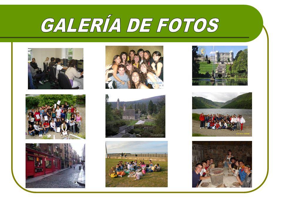 GALERÍA DE FOTOS GALERÍA DE FOTOS