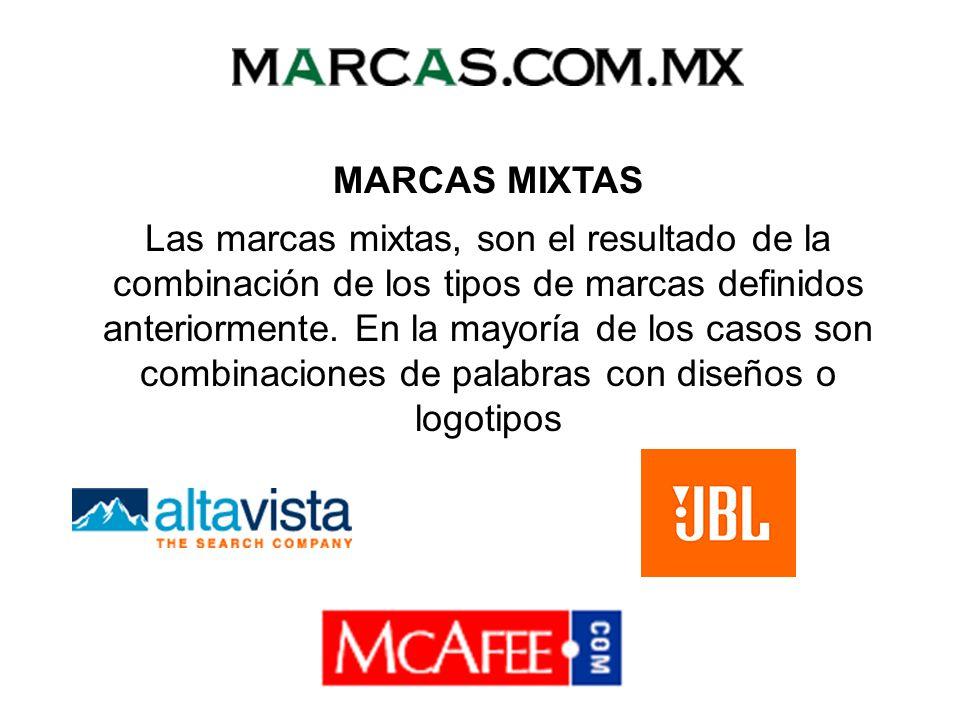 MARCAS MIXTAS