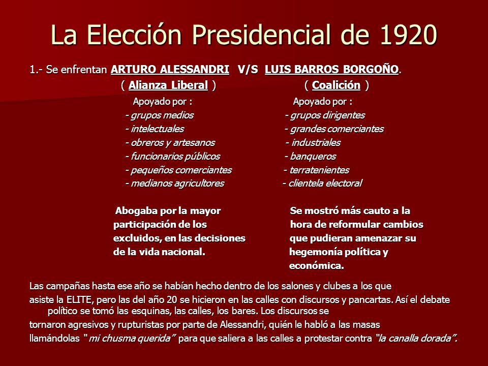 La Elección Presidencial de 1920