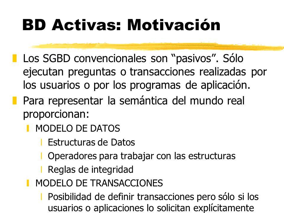 BD Activas: Motivación