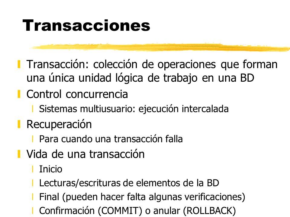 Ejemplo motivador: transferencia bancaria