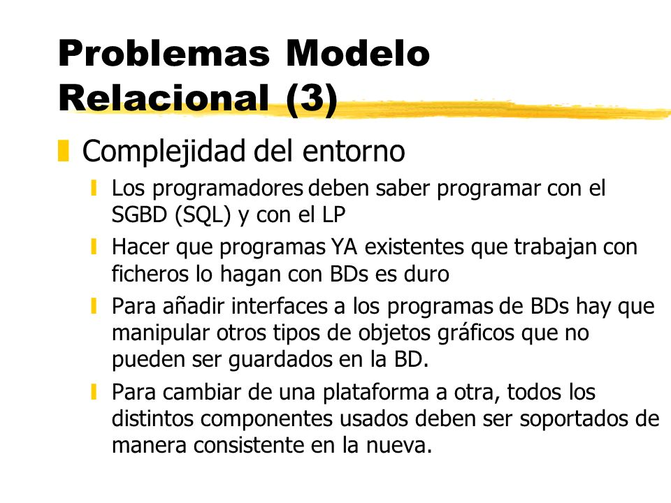 Problemas Modelo Relacional (3)