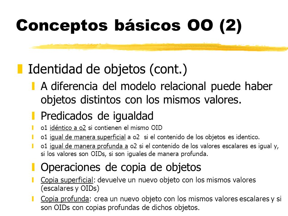 Conceptos básicos OO (2)