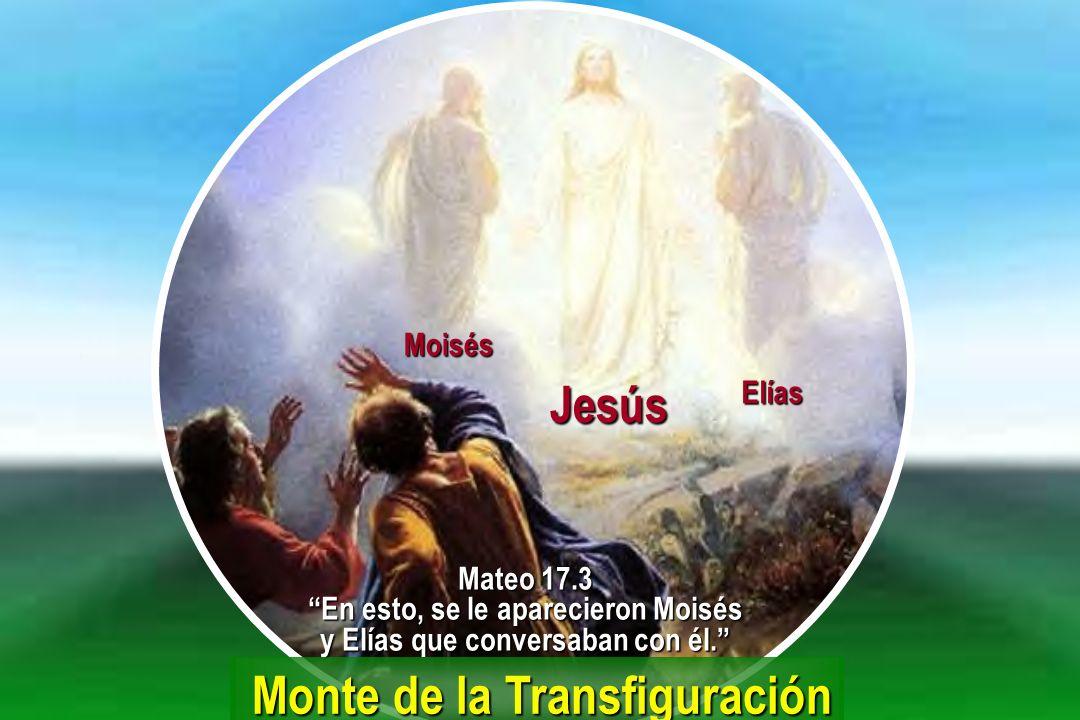 En esto, se le aparecieron Moisés y Elías que conversaban con él.