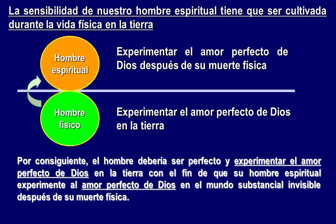 Experimentar el amor perfecto de Dios después de su muerte física
