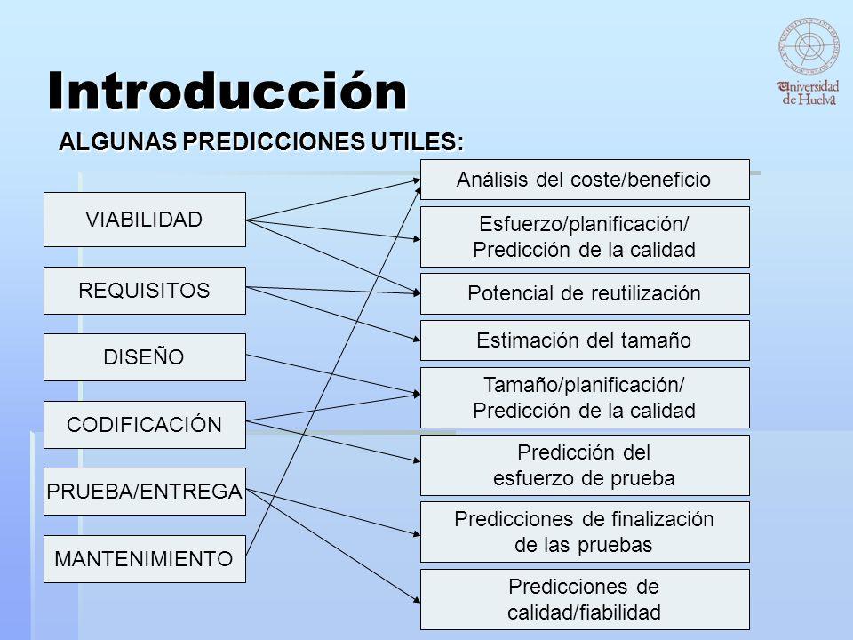 ALGUNAS PREDICCIONES UTILES: