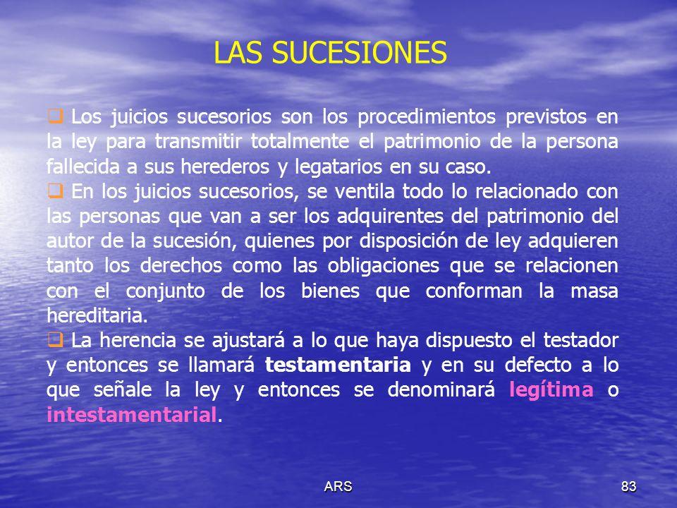 LAS SUCESIONES