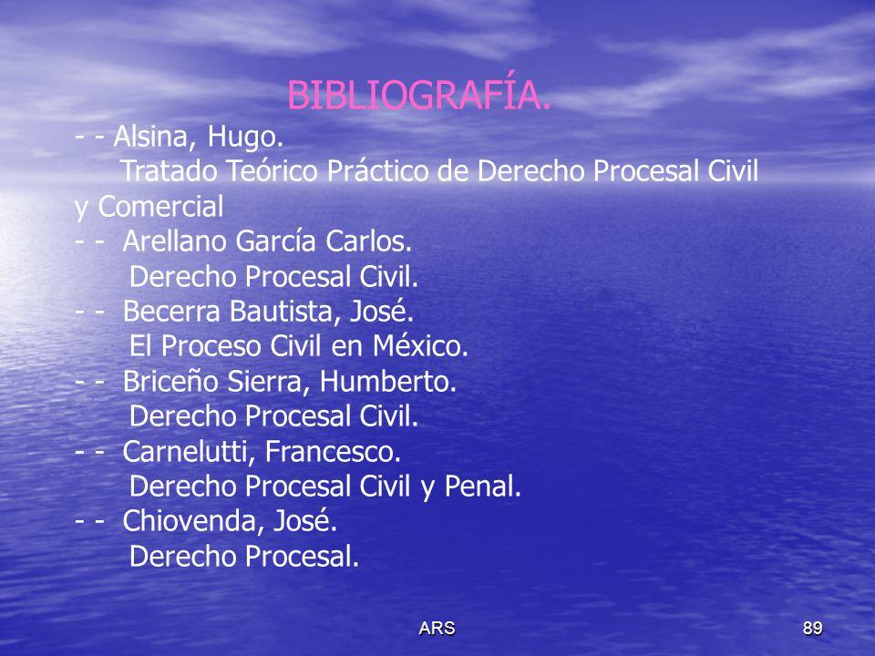 BIBLIOGRAFÍA. - - Alsina, Hugo.
