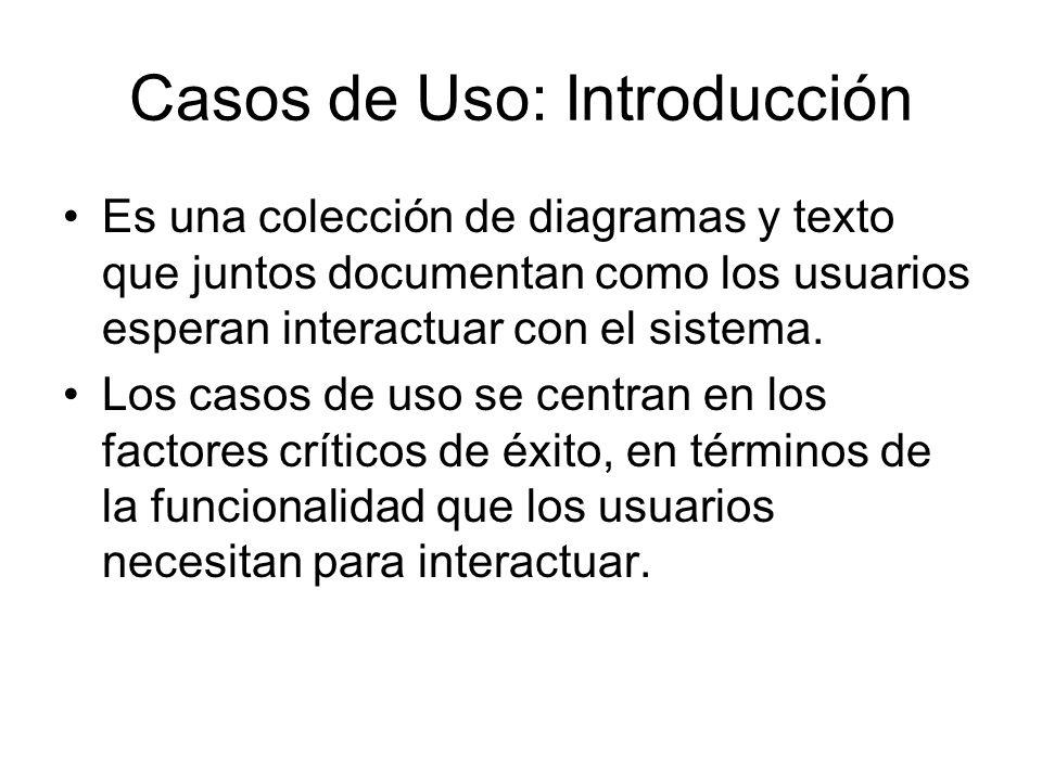 Casos de Uso: Introducción