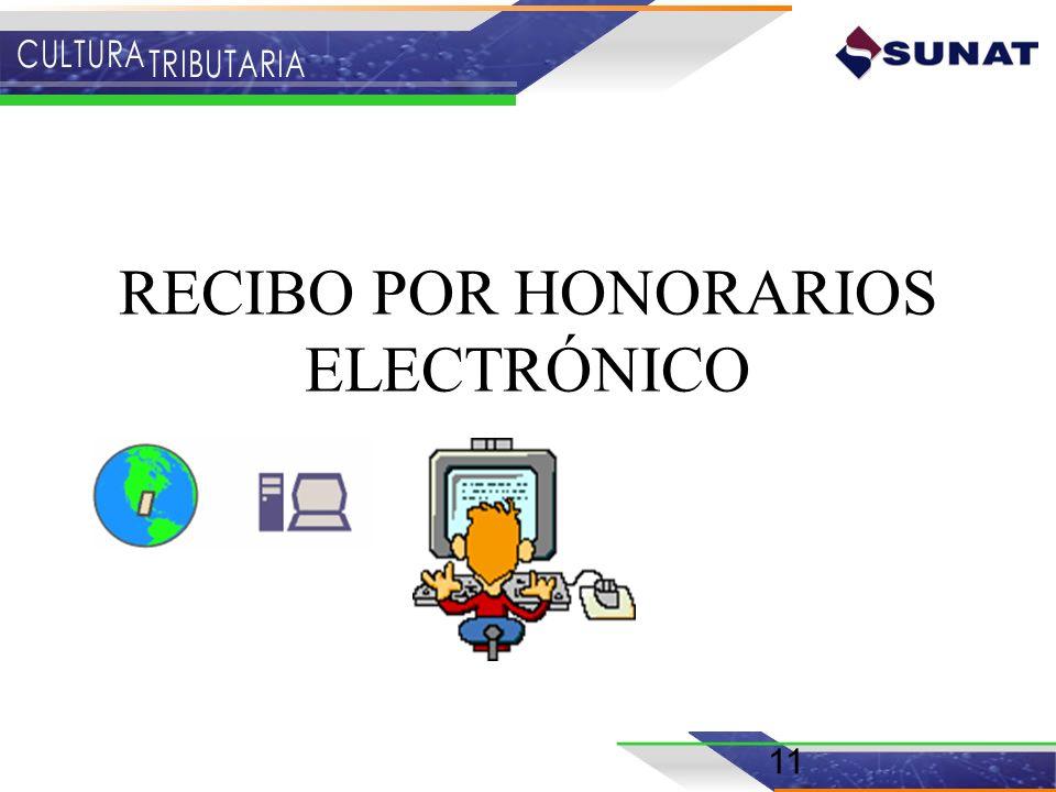 RECIBO POR HONORARIOS ELECTRÓNICO