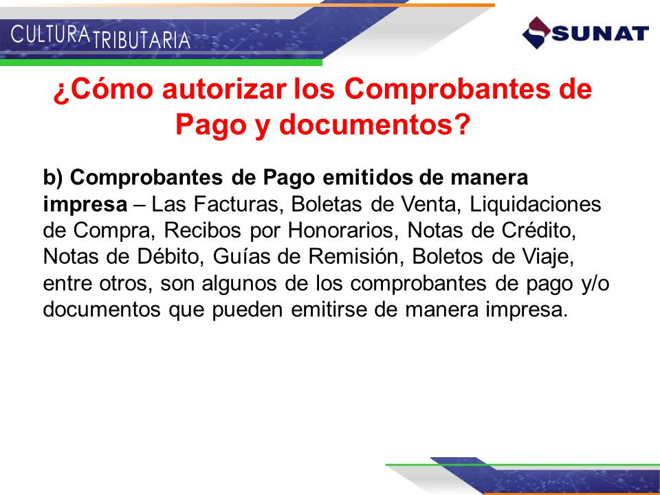 ¿Cómo autorizar los Comprobantes de Pago y documentos