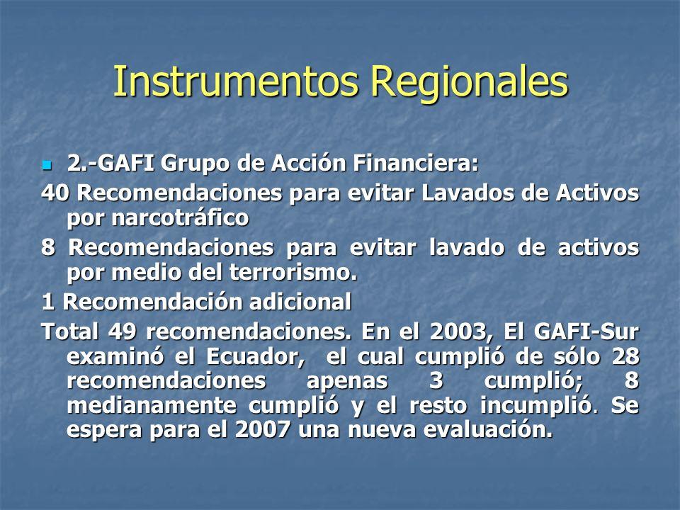 Instrumentos Regionales