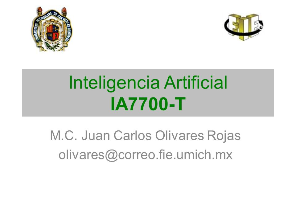 Inteligencia Artificial IA7700-T