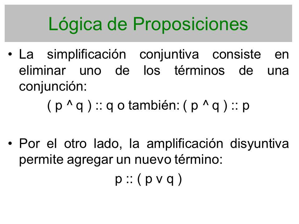 Lógica de Proposiciones