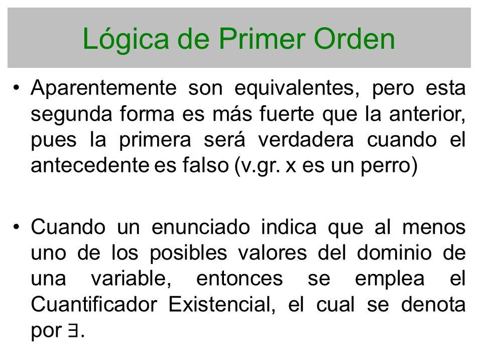 Lógica de Primer Orden