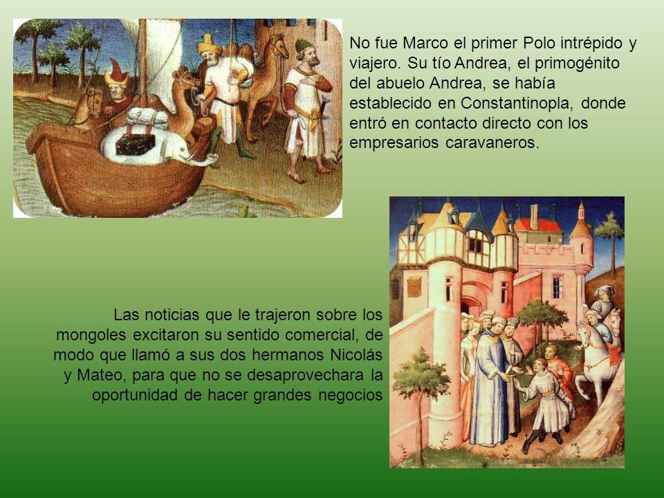 No fue Marco el primer Polo intrépido y viajero