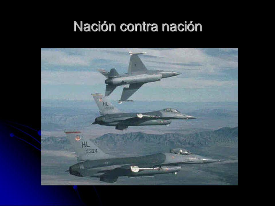 Nación contra nación
