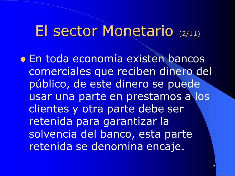 El sector Monetario (2/11)