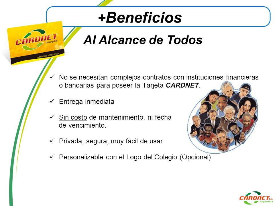 +Beneficios Al Alcance de Todos
