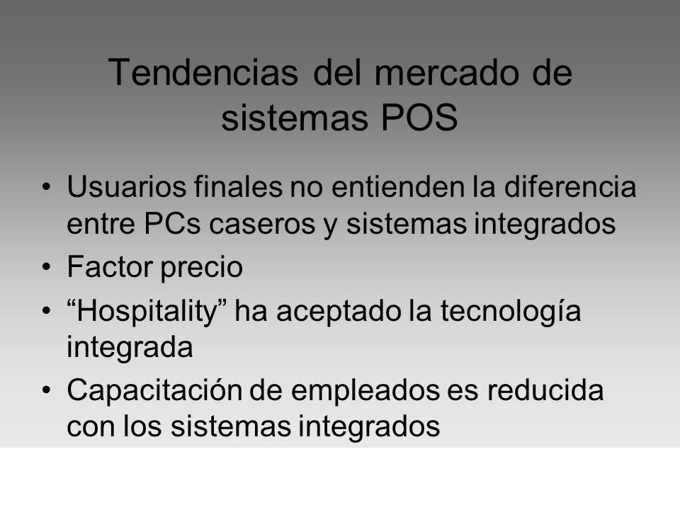 Tendencias del mercado de sistemas POS