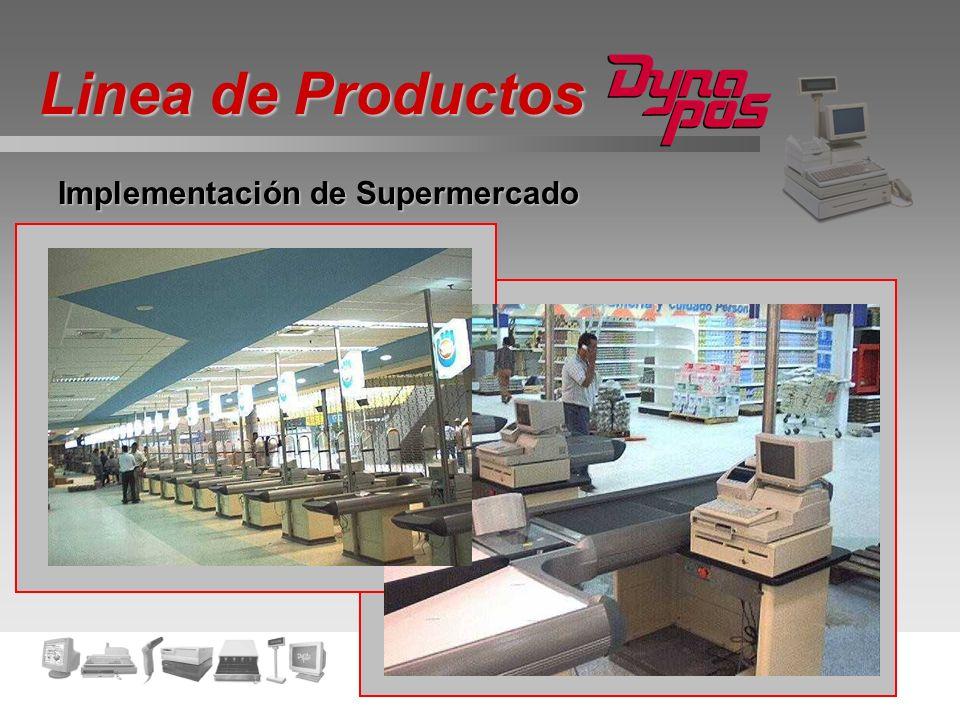 Linea de Productos Implementación de Supermercado