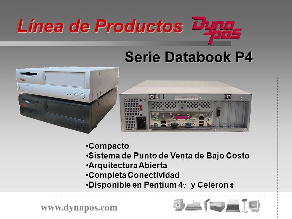 Línea de Productos Serie Databook P4 www.dynapos.com Compacto