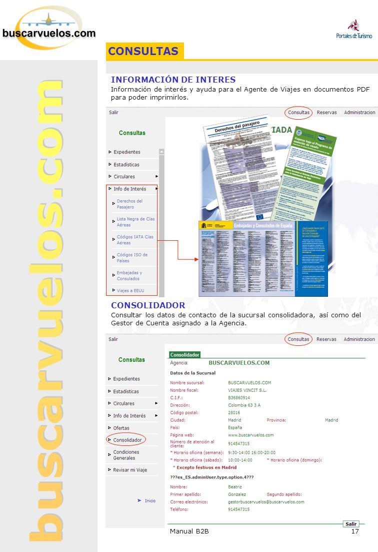 CONSULTAS INFORMACIÓN DE INTERES CONSOLIDADOR