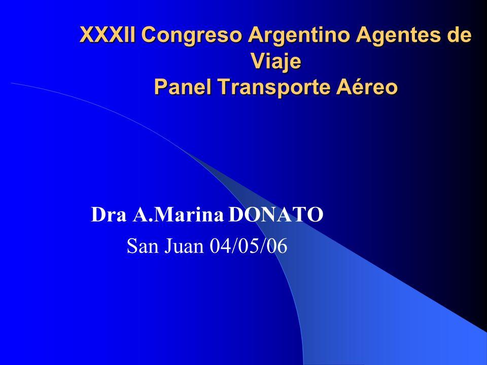 XXXII Congreso Argentino Agentes de Viaje Panel Transporte Aéreo
