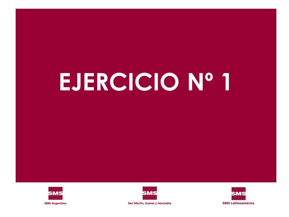 EJERCICIO Nº 1