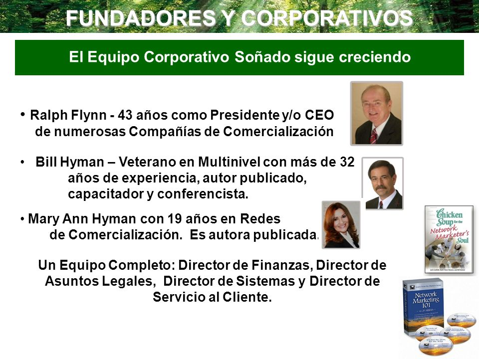 FUNDADORES Y CORPORATIVOS