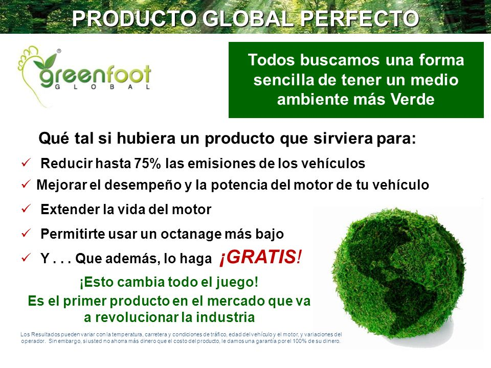 PRODUCTO GLOBAL PERFECTO