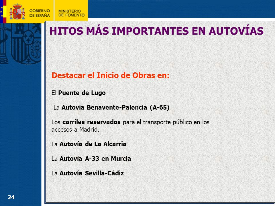 CARRETERAS (3) INVERSIÓN POR MODOS DE TRANSPORTE