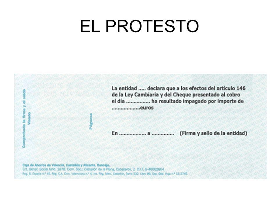 EL PROTESTO