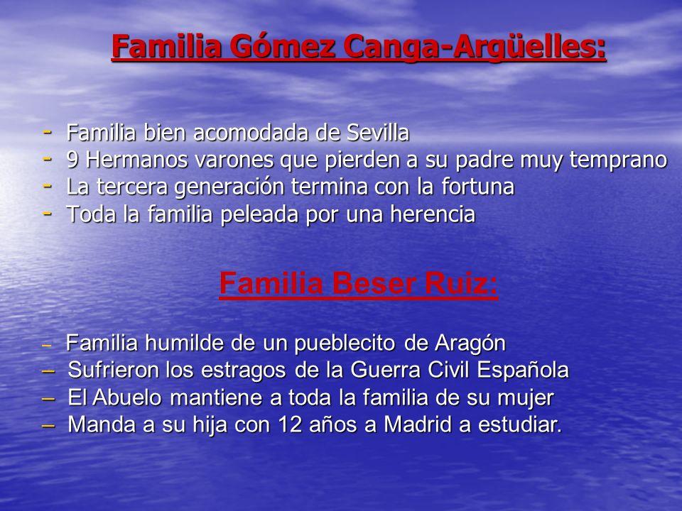 Familia Gómez Canga-Argüelles: