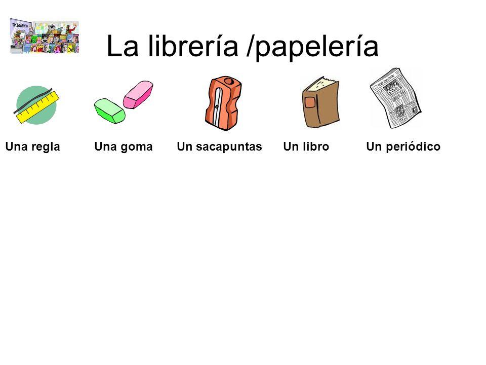 La librería /papelería