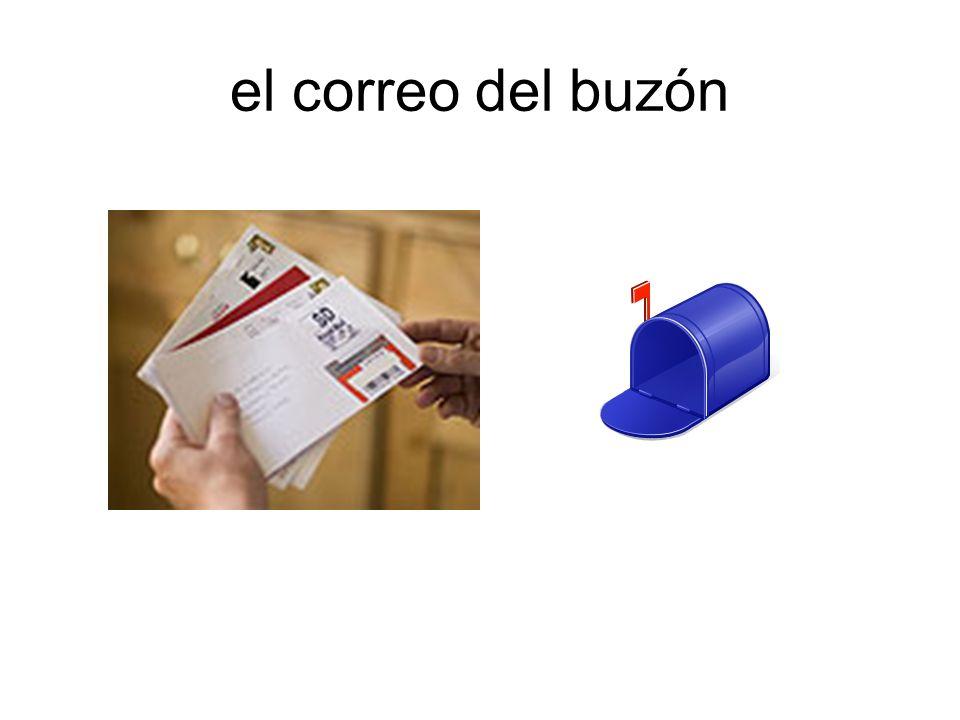 el correo del buzón