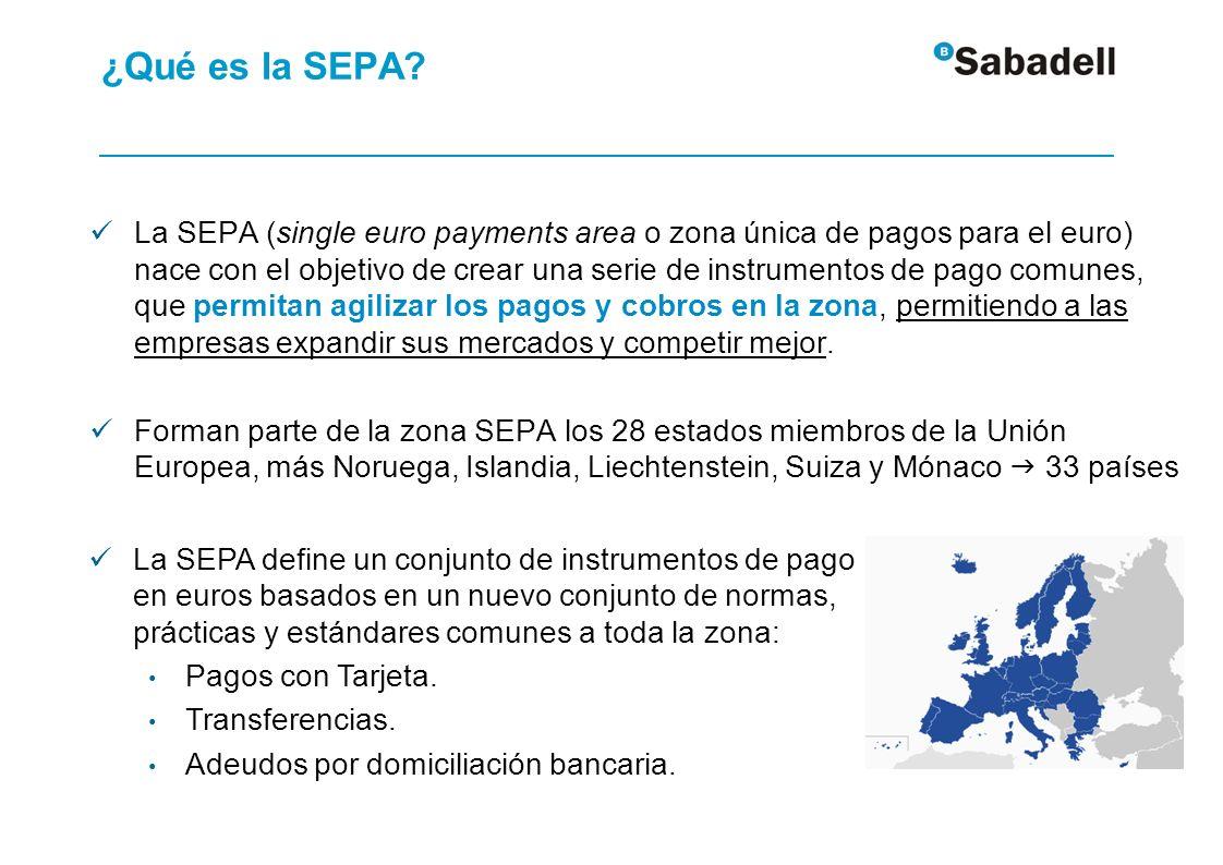 Legislación hacia SEPA