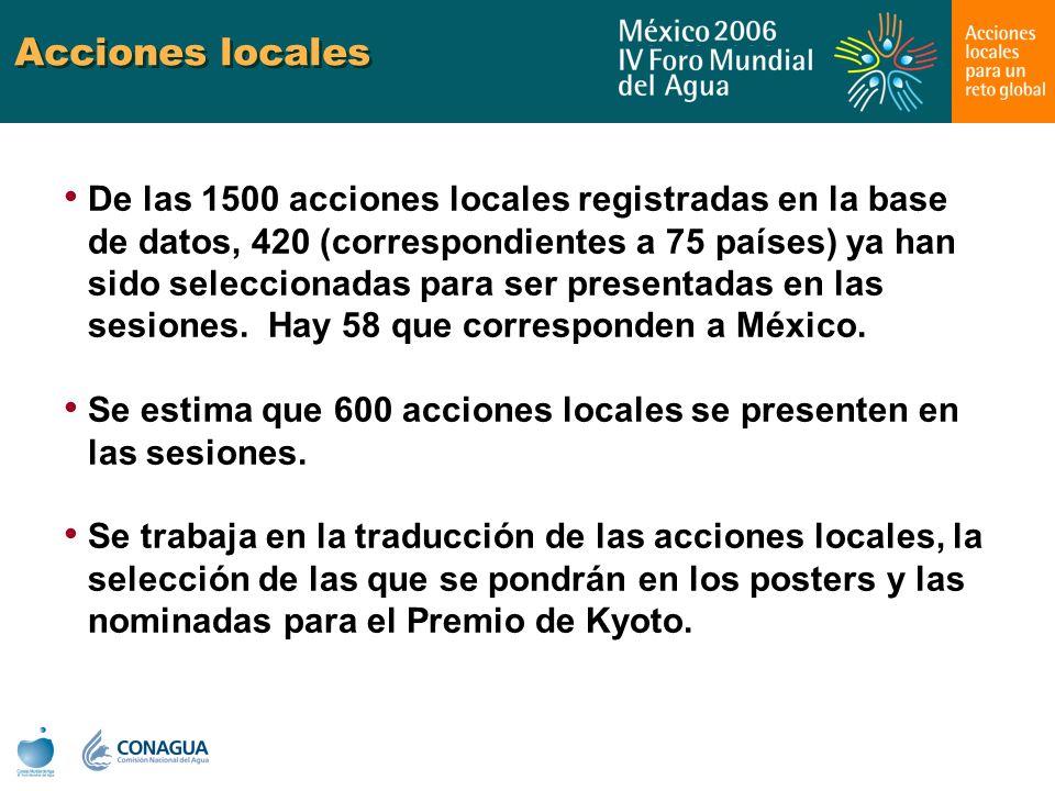 Acciones locales