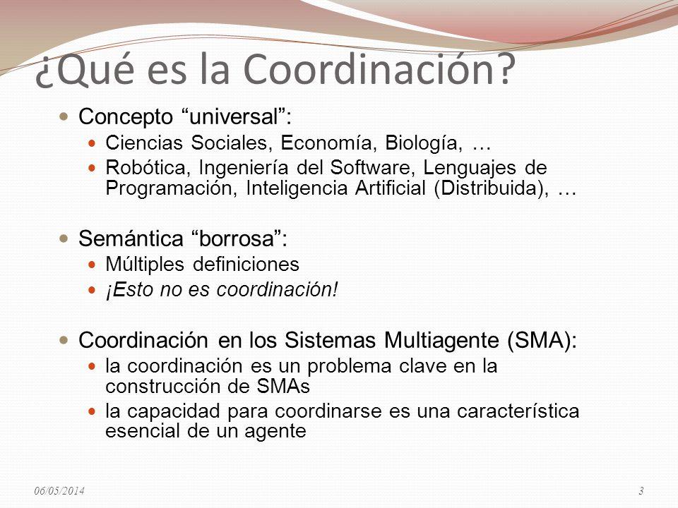 ¿Qué es la Coordinación