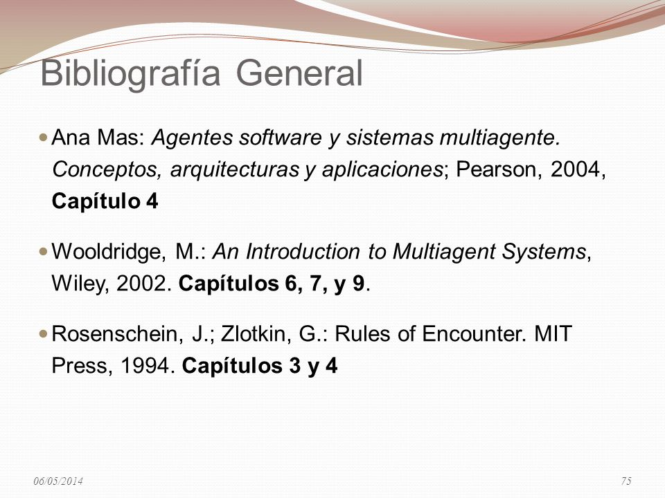 29/03/2017 Bibliografía General.