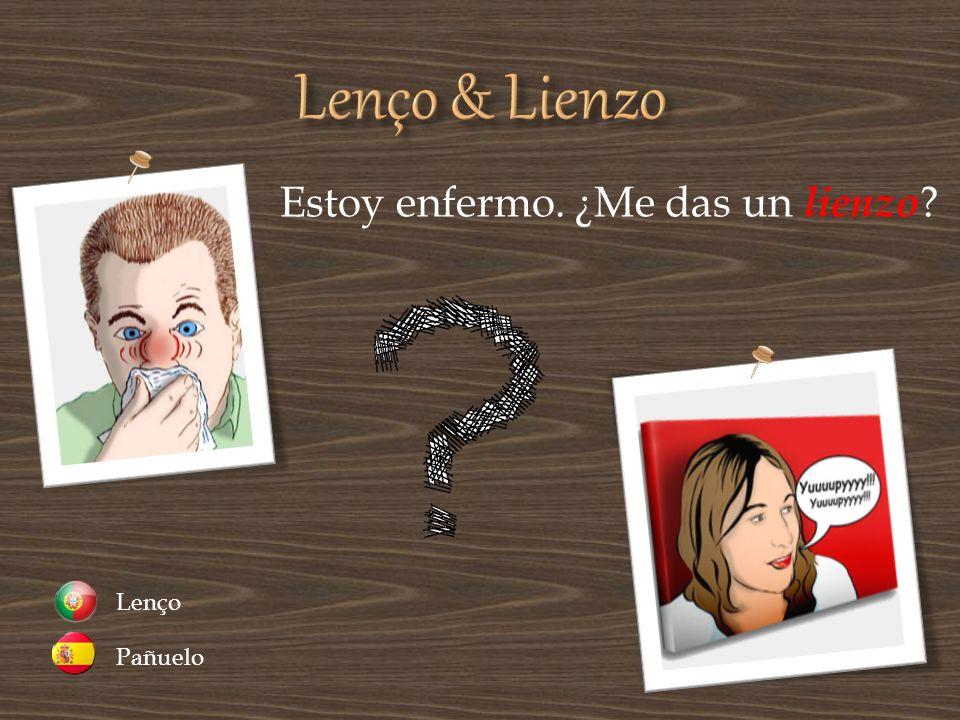 Lenço & Lienzo Estoy enfermo. ¿Me das un lienzo Pañuelo Lenço