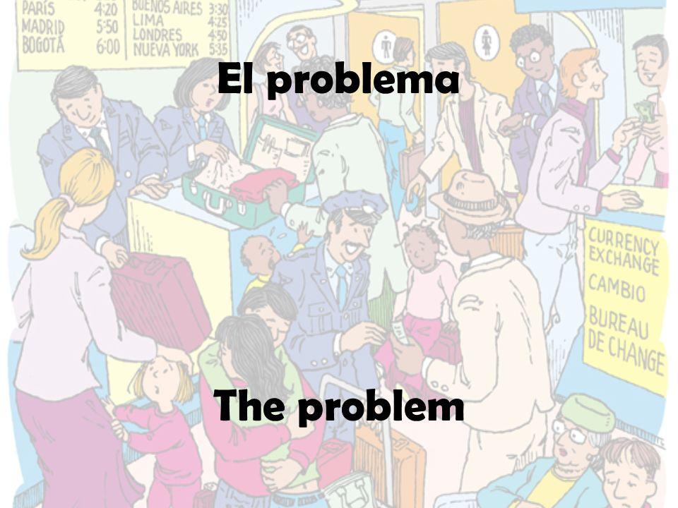El problema The problem