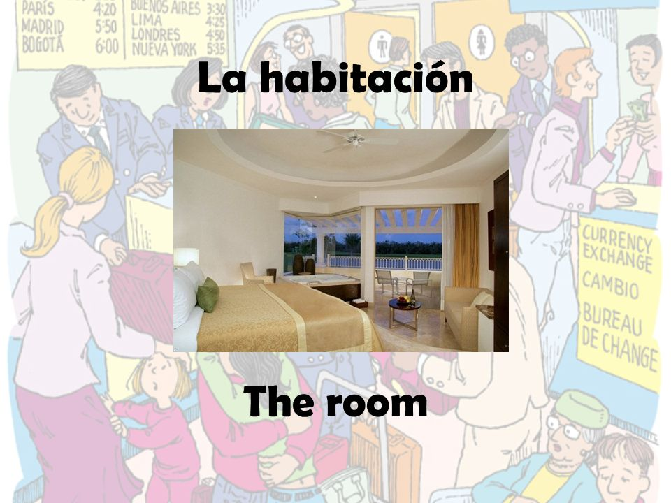 La habitación The room