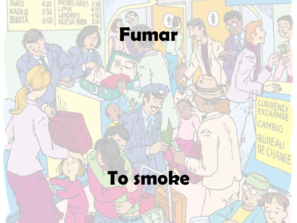 Fumar To smoke