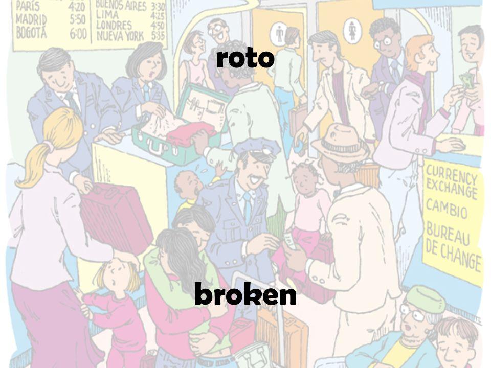 roto broken