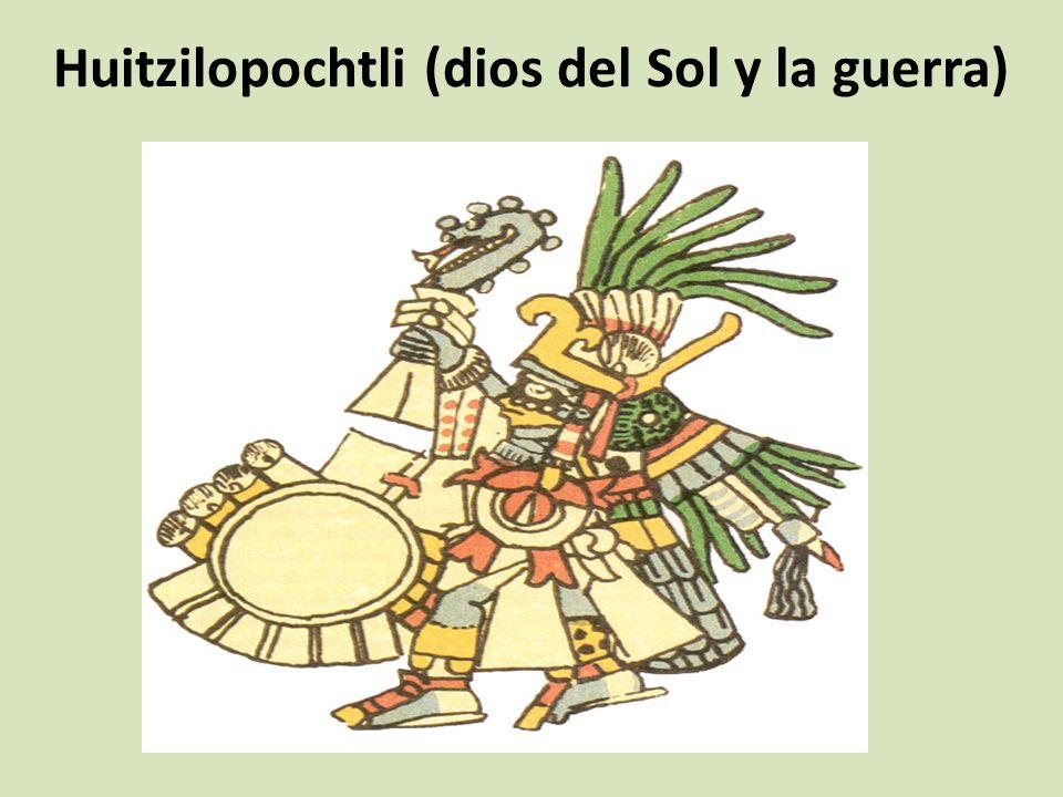 Huitzilopochtli (dios del Sol y la guerra)