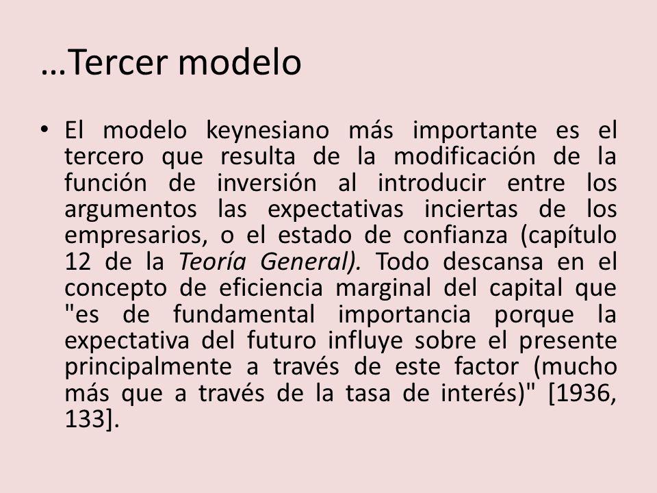 …Tercer modelo