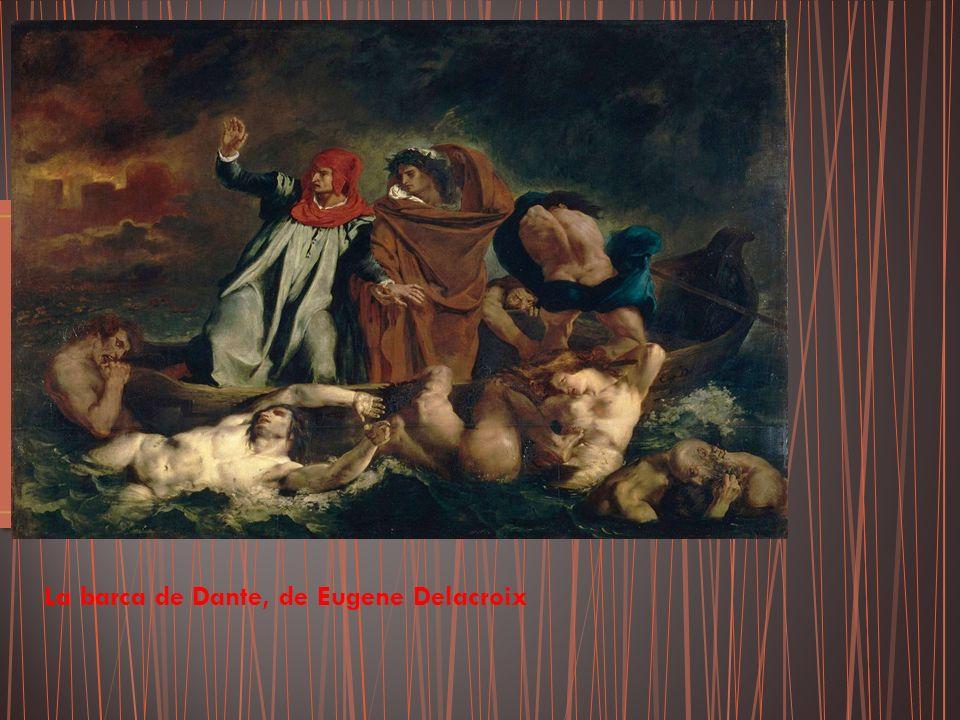 La barca de Dante, de Eugene Delacroix