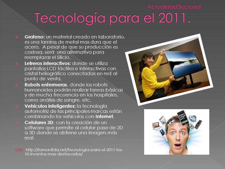 Tecnología para el 2011. Actualidad Sectorial